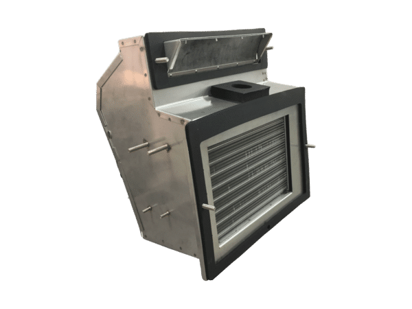 Stainless Steel Kenworth Heater Box Back Left