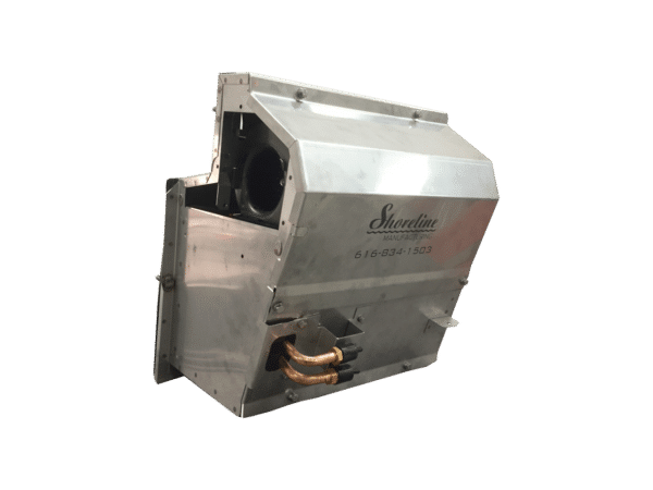 Kenworth Heater Box Assembly Angled Front