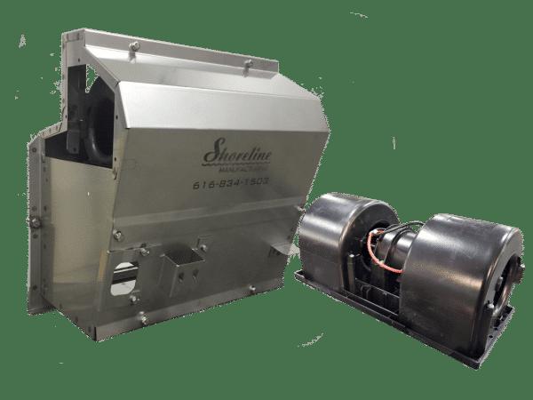 Kenworth Heater Box with Blower Motor