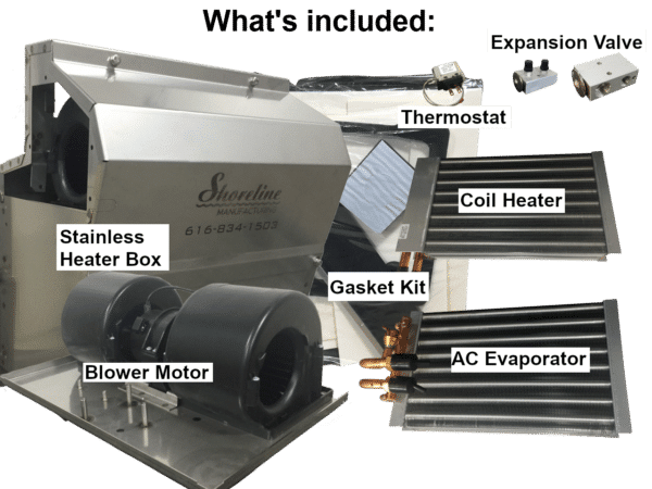 Kenworth Heater Box Assembly