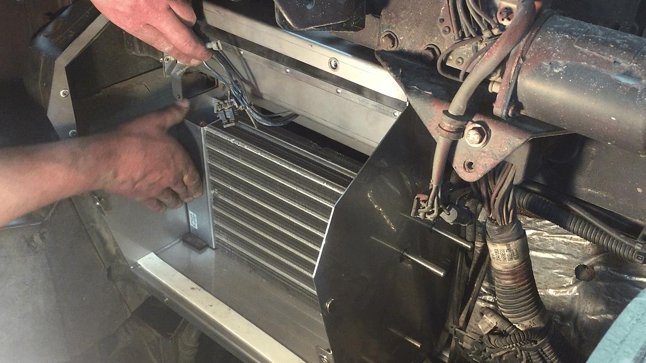 Install heater core