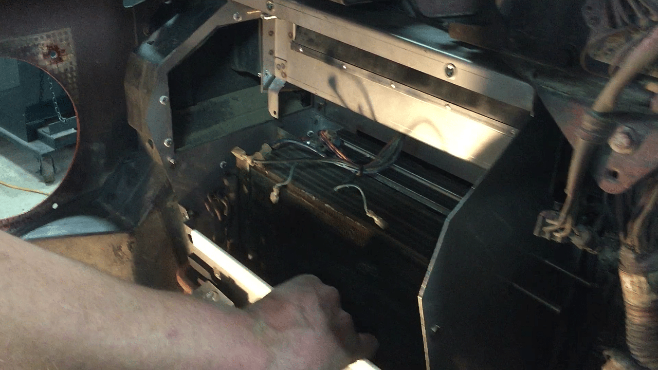 Install lower cover